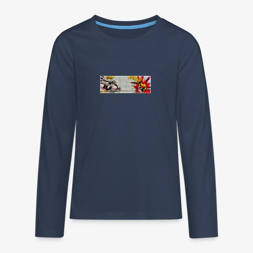 ATOX - Maglietta Premium a manica lunga per teenager
