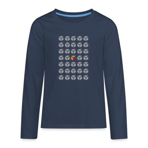 grid semantic web - Teenagers' Premium Longsleeve Shirt