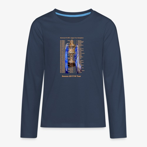 Montrose League Cup Tour - Teenagers' Premium Longsleeve Shirt