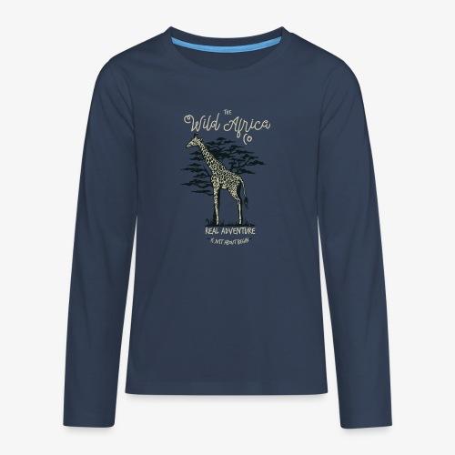 Girafe - T-shirt manches longues Premium Ado