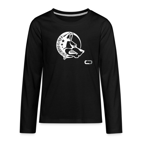 CORED Emblem - Teenagers' Premium Longsleeve Shirt