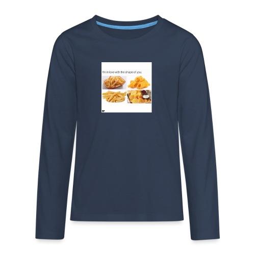 Shape - Teenager Premium Langarmshirt