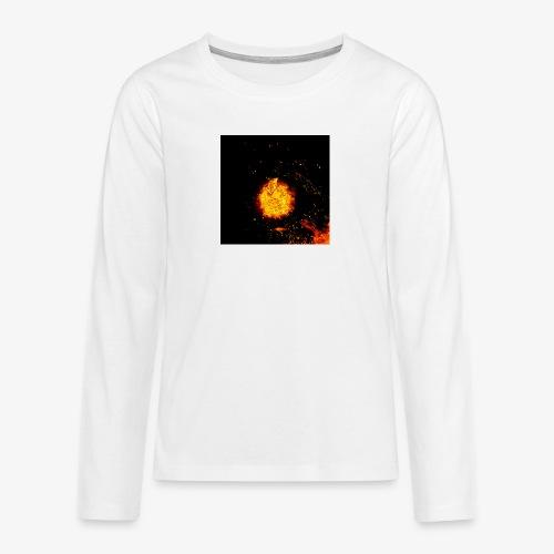 FIRE BEAST - Teenager Premium shirt met lange mouwen