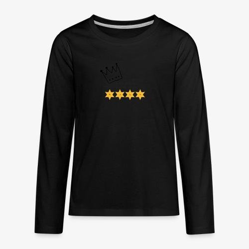 The Kings of Rugby (Kids) - Teenagers' Premium Longsleeve Shirt