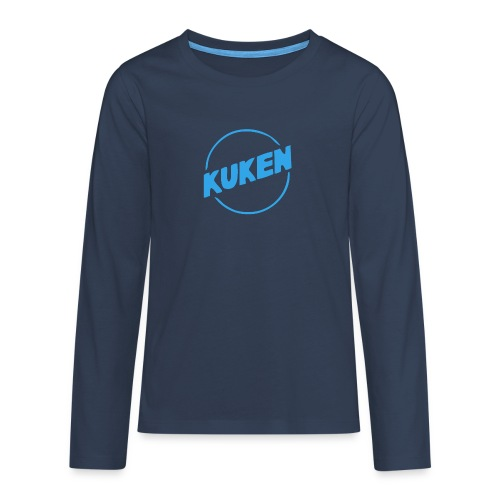 Kuken - Långärmad premium T-shirt tonåring