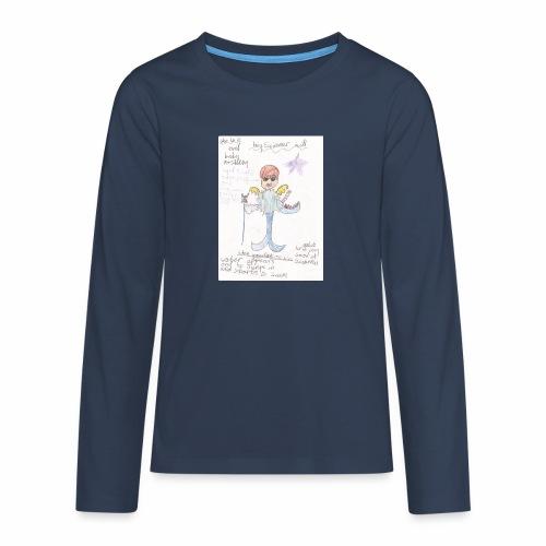 Big Swimmer Bill DHIRT - Teenagers' Premium Longsleeve Shirt