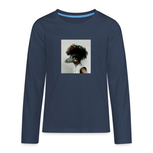 pini punk - Teenager Premium Langarmshirt