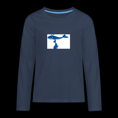 whale t - Teenagers' Premium Longsleeve Shirt