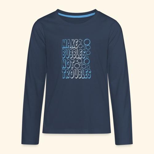 Bubbles001 - Teenager Premium shirt met lange mouwen