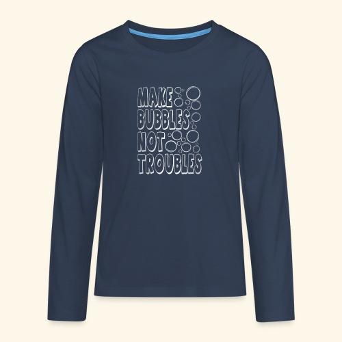 Bubbles003 - Teenager Premium shirt met lange mouwen