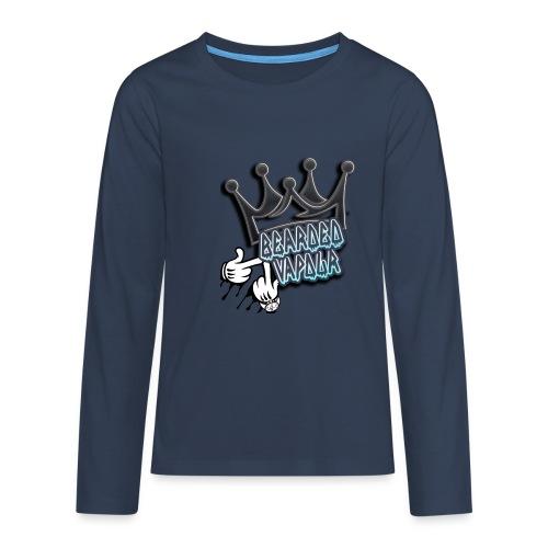 all hands on deck - Teenagers' Premium Longsleeve Shirt