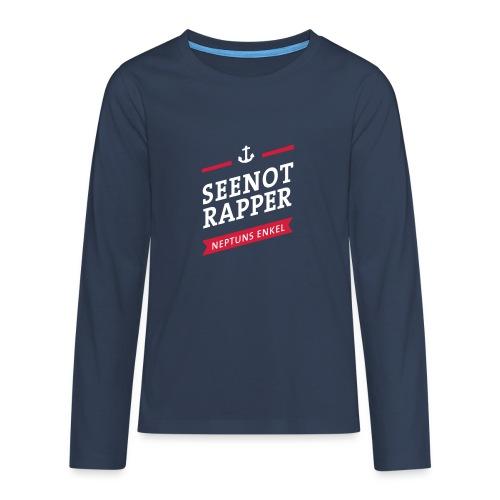 Seenotrapper - Teenager Premium Langarmshirt