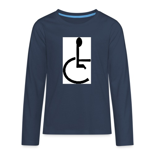 Don't have to get Drunk to Get Legless - Teenagers' Premium Longsleeve Shirt