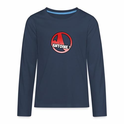 Le Logo Antoine ! - T-shirt manches longues Premium Ado