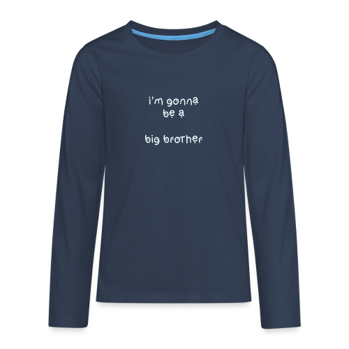 bigbrother Collection - Premium langermet T-skjorte for tenåringer