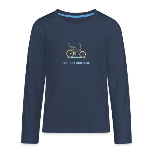 flatvelo - T-shirt manches longues Premium Ado