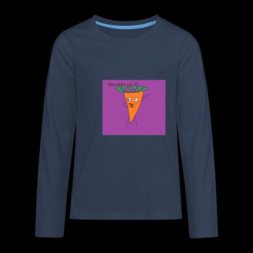 Yt logo - Långärmad premium T-shirt tonåring
