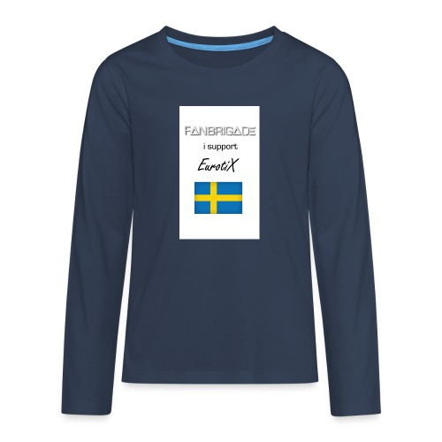 Fanbrigade - Teenager premium T-shirt med lange ærmer