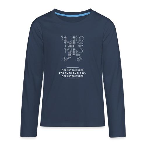 Departementsdepartementet (fra Det norske plagg) - Premium langermet T-skjorte for tenåringer