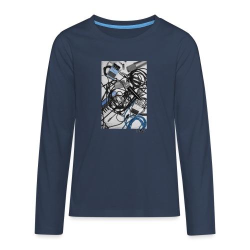 Jumio Print - Teinien premium pitkähihainen t-paita