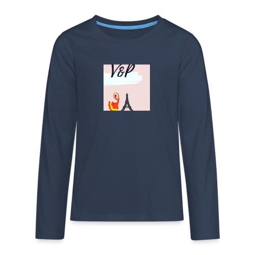 5093CF6A 6ED5 4C11 9553 75CE5F6F2F40 1 - Camiseta de manga larga premium adolescente