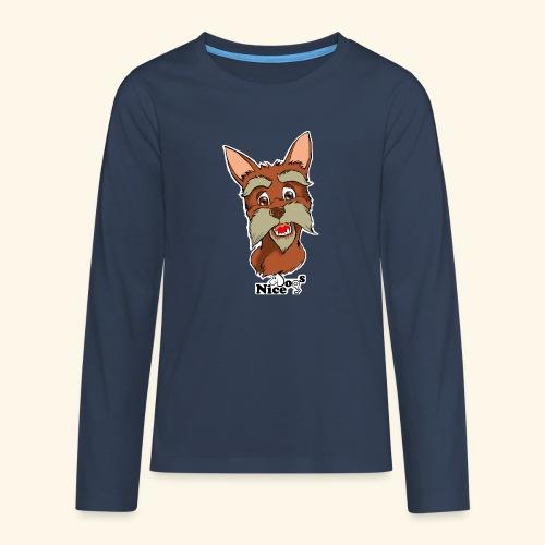Nice Dogs schnauzer 2 - Maglietta Premium a manica lunga per teenager