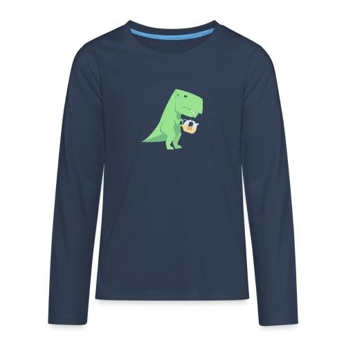 Tea-Saurus - Teenager Premium Langarmshirt