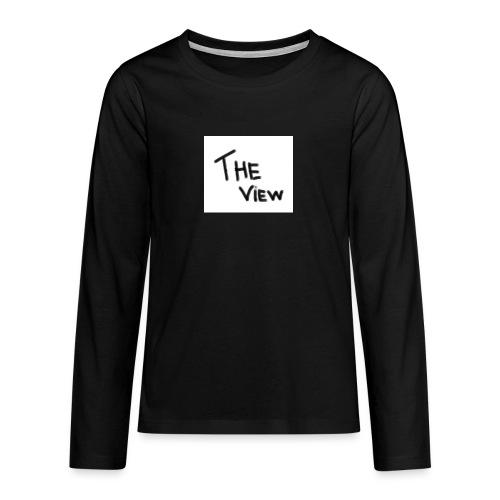 Untitled - Teenager Premium shirt met lange mouwen