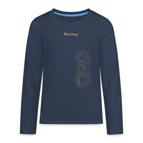 wheelman - Maglietta Premium a manica lunga per teenager