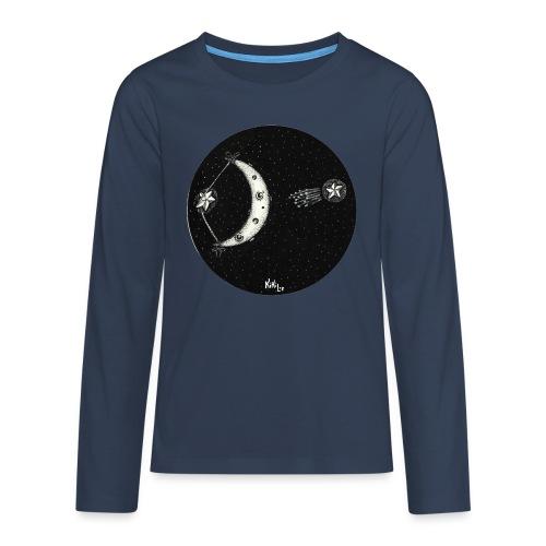 Shooting star (Estrella fugaz) - Camiseta de manga larga premium adolescente