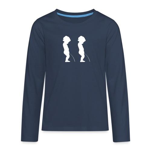 whiteman - T-shirt manches longues Premium Ado