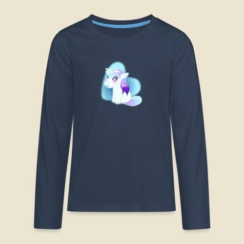 Licorne n°2 - T-shirt manches longues Premium Ado