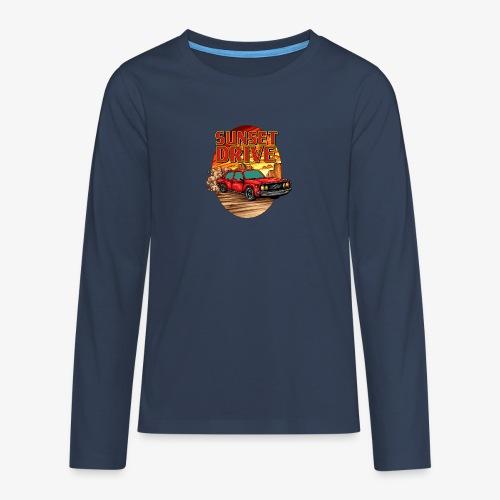 Sunset Drive - T-shirt manches longues Premium Ado