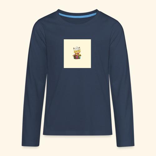 HCP custo 6 - Teenagers' Premium Longsleeve Shirt
