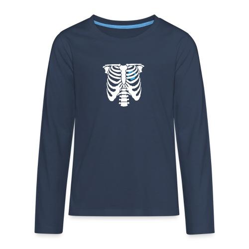 JR Heart - Teenagers' Premium Longsleeve Shirt