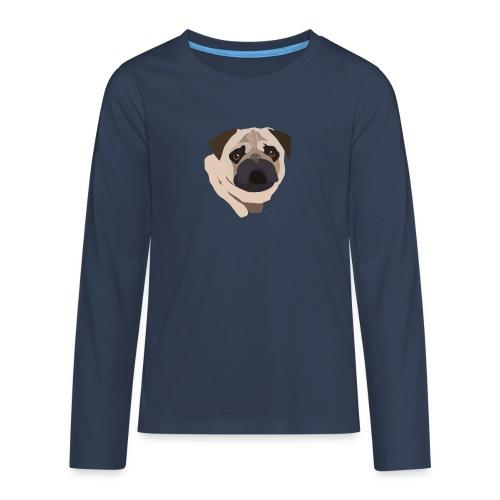 Pug Life - Teenagers' Premium Longsleeve Shirt