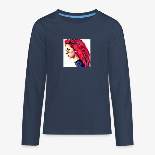 MINERVA - Camiseta de manga larga premium adolescente