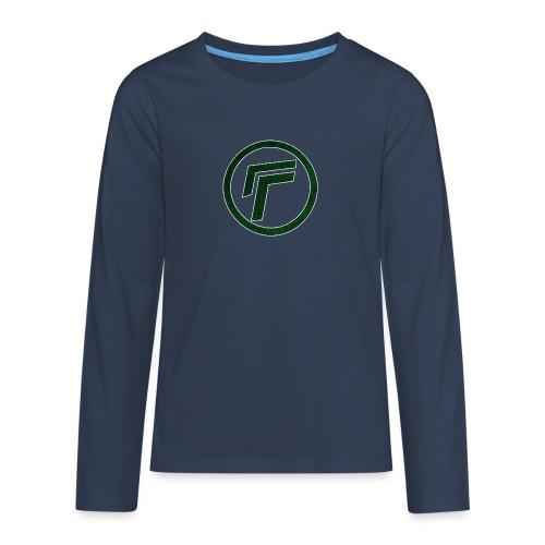 Naamloos 1 png - Teenagers' Premium Longsleeve Shirt