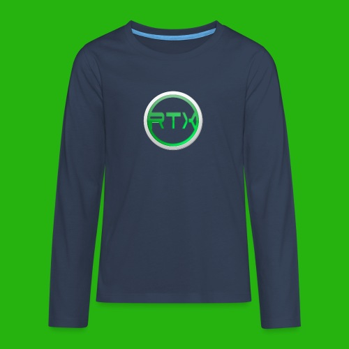 Logo Shirt - Teenagers' Premium Longsleeve Shirt