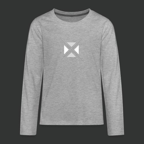 hipster triangles - Teenagers' Premium Longsleeve Shirt