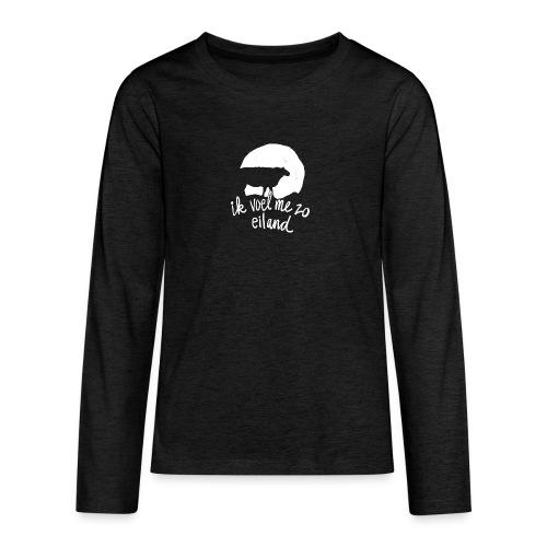 Eiland shirt - Teenager Premium shirt met lange mouwen