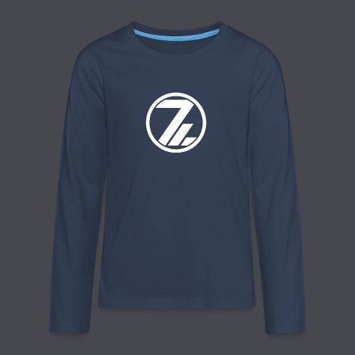 OutsiderZ Hoodie 3 - Teenager Premium Langarmshirt