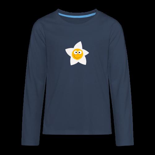 Happy Happyhills - Teenager Premium Langarmshirt
