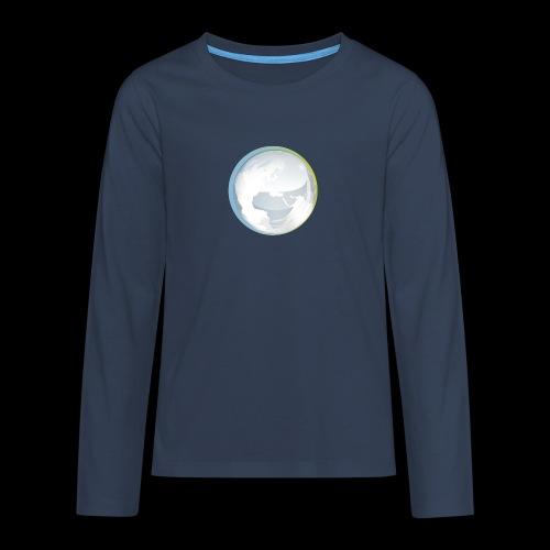 PTS logo new15 beeldmerkS png - Teenagers' Premium Longsleeve Shirt