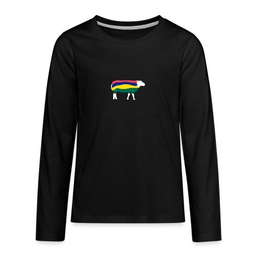 Schaap van Terschelling - Teenager Premium shirt met lange mouwen