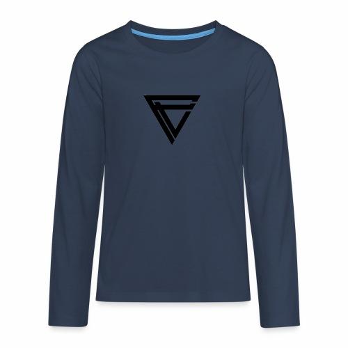 Saint Clothing T-shirt | MALE - Premium langermet T-skjorte for tenåringer