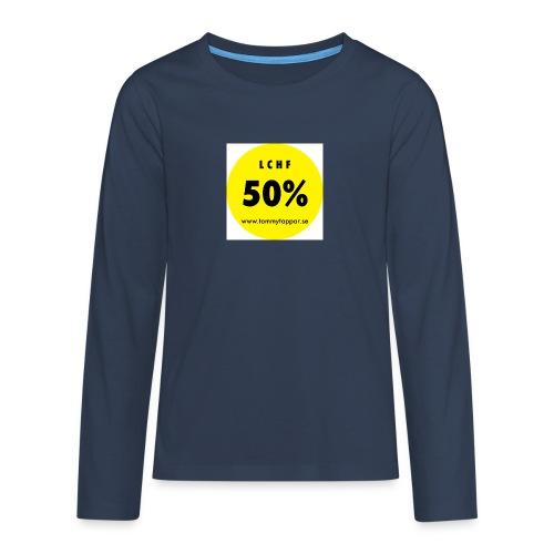 knapp 50 3 - Långärmad premium T-shirt tonåring