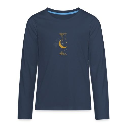 Ramadan Kareem Muslim holy month ilustration - Teenagers' Premium Longsleeve Shirt