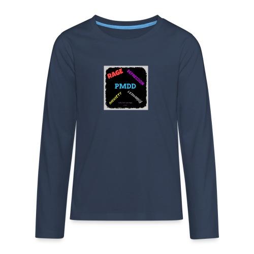 Pmdd symptoms - Teenagers' Premium Longsleeve Shirt