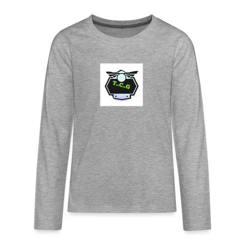 Cool gamer logo - Teenagers' Premium Longsleeve Shirt